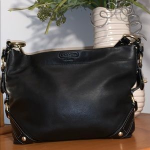 Coach Carly Soft Leather Hobo Bag